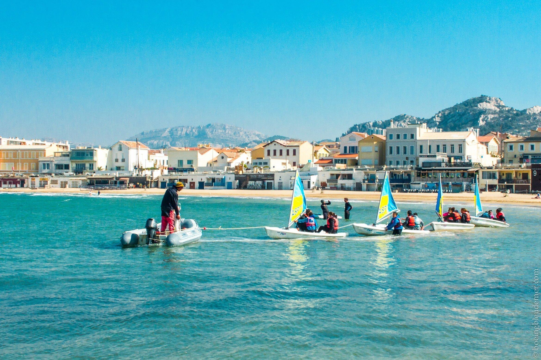 École de bâteau à Marseille