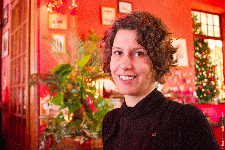 Portrait au restaurant