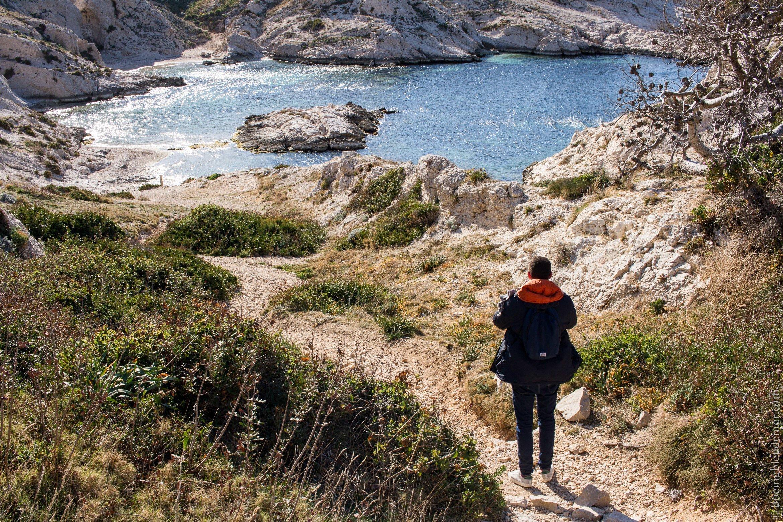 Sentier sur les îles du Frioul