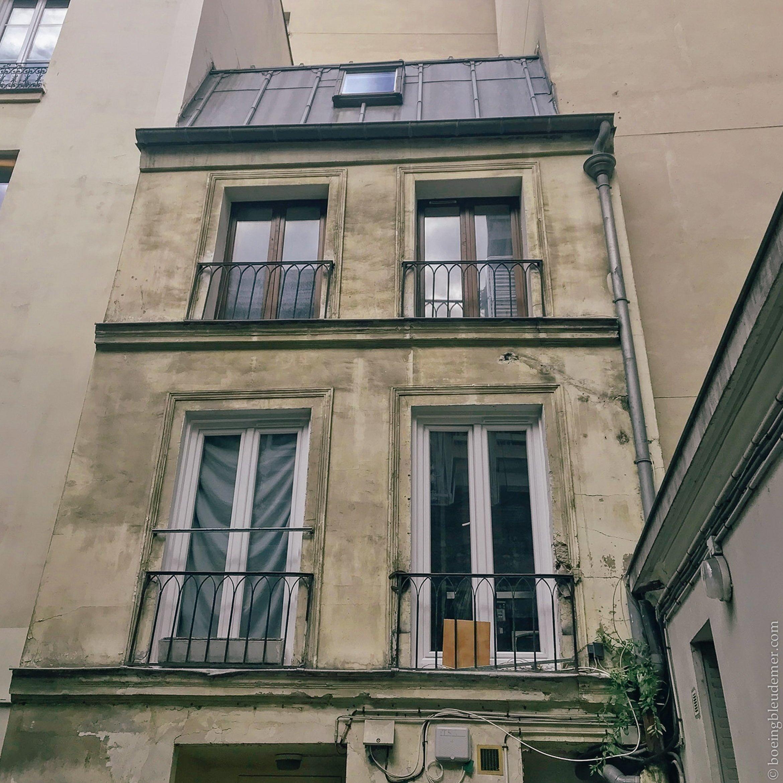 Mon ancien logement à Paris