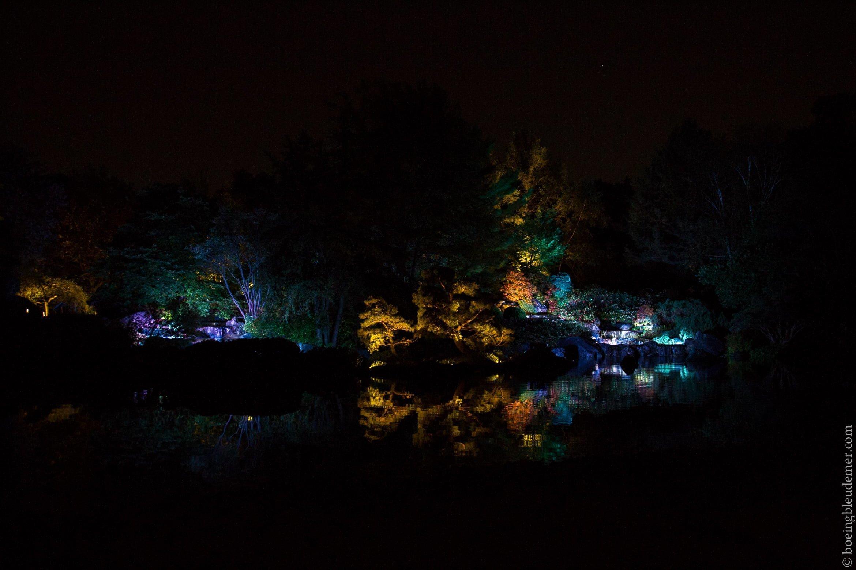 Jardins de lumière - Jardin botanique