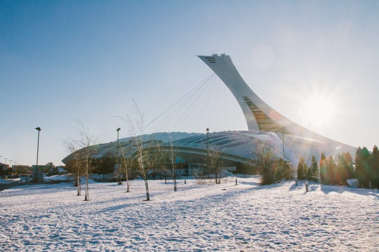 Vue de l'observatoire du Stade Olympique