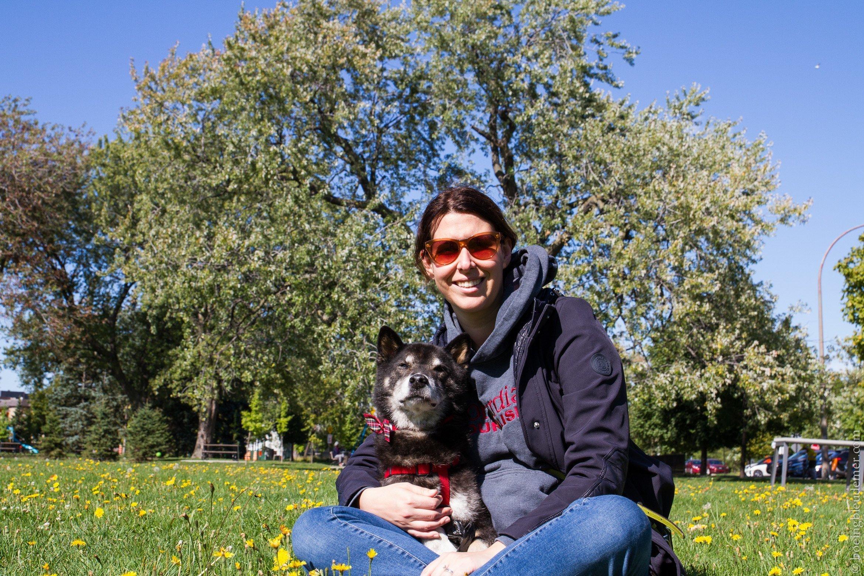 Akira et Cynthia au Parc Bellerive