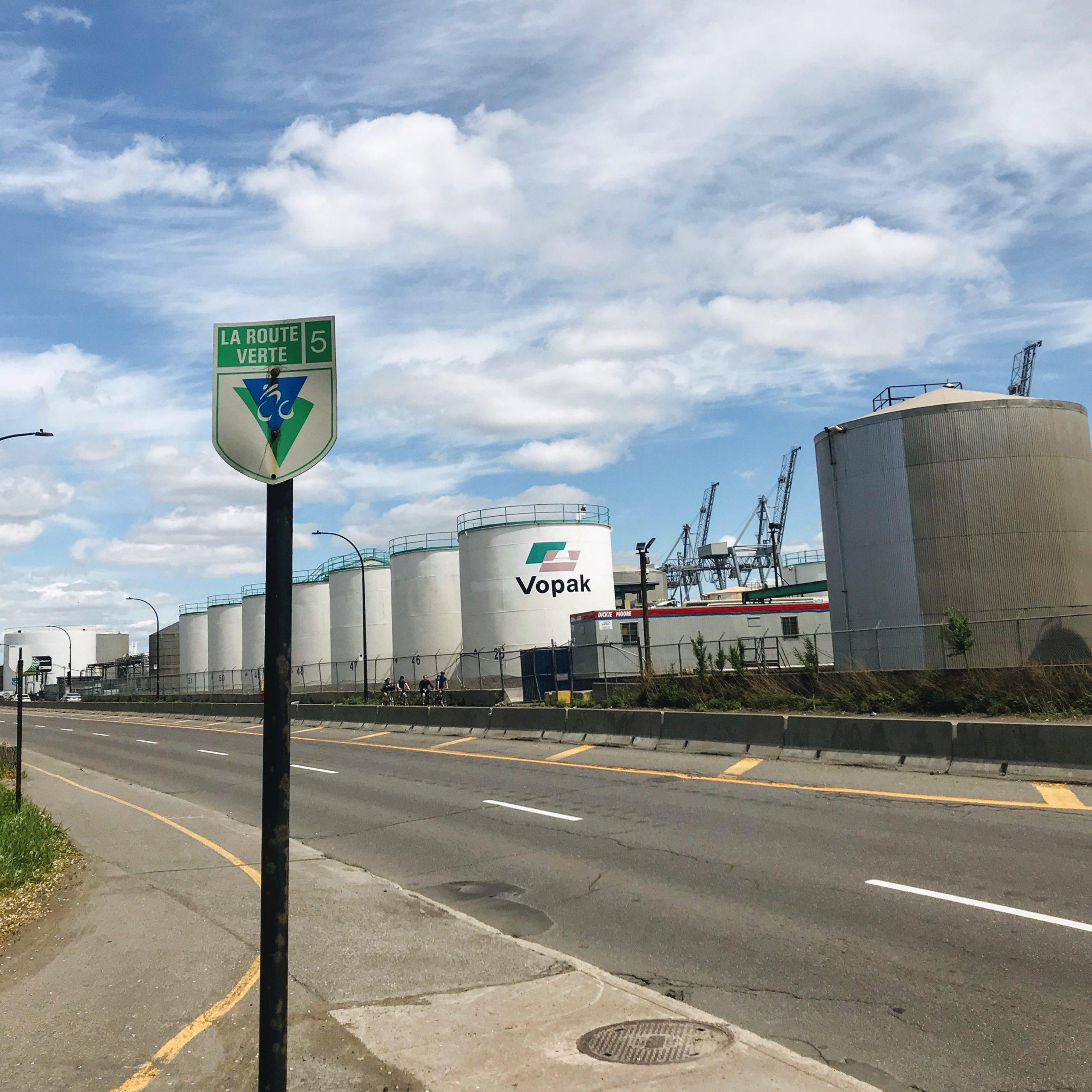 La Route verte - 5 à Montréal
